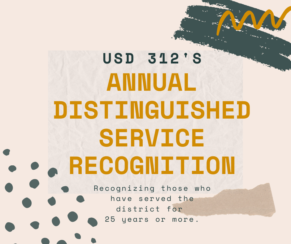 Annual Distinguished Service Recognition