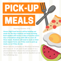 Pick-up Meals for Home Learning